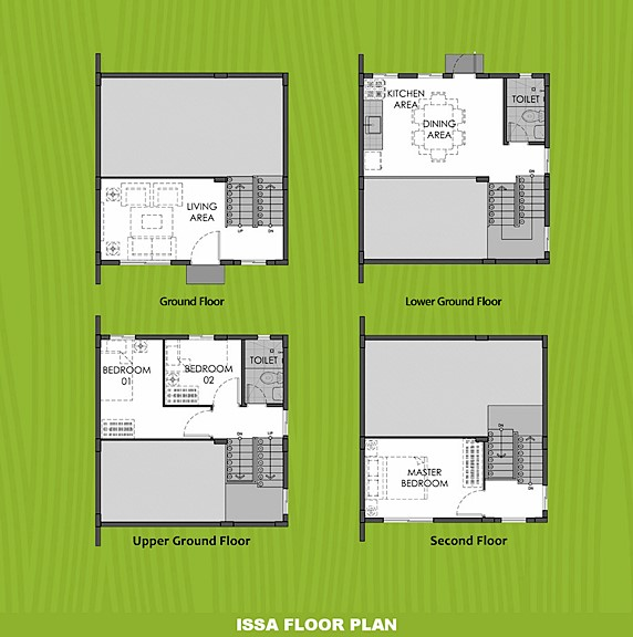 Issa Floor Plan House and Lot in Bulacan