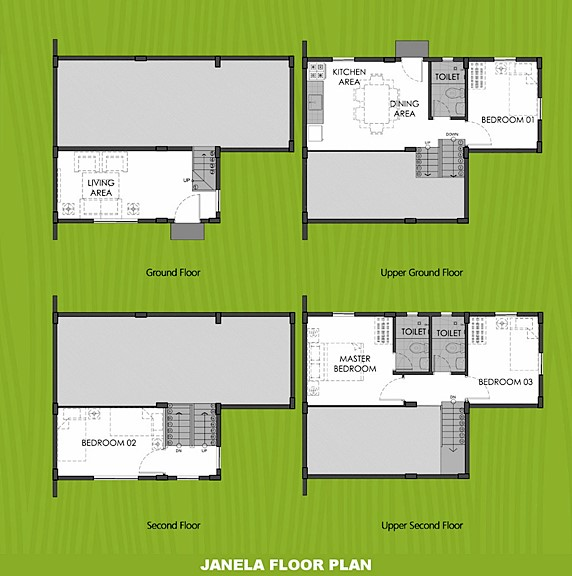 Janela Floor Plan House and Lot in Bulacan