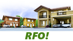 RFO Units for Sale in Camella Bulacan.